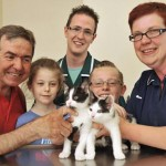 Vet visit was a dream come true for Wordsley youngsters